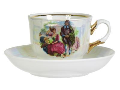 Чайная пара Мадонна 250см3 Добрушский фарфоровый завод