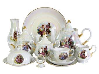 Чайный сервиз Мадонна 31 предметов на 6 персон