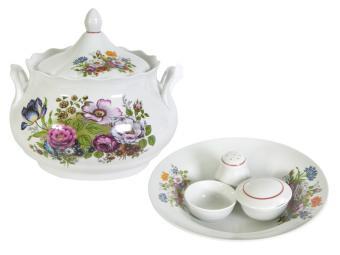 Набор для супа Букет цветов 10пр