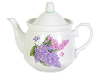 Чайник Сирень 600см3 форма Кирмаш