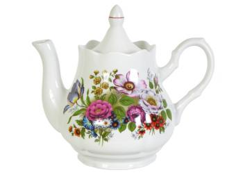 Чайник 1750см3 ф.Романс Букет цветов