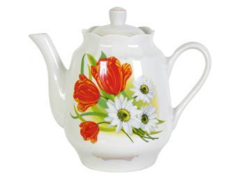 Чайник 1750см3 Ромашка с тюльпаном