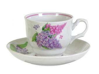 Чайная пара 250мл СИРЕНЬ 0С0964