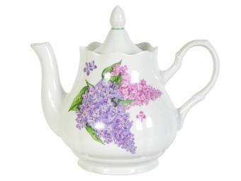Чайник 1750см3 Сирень форма Романс