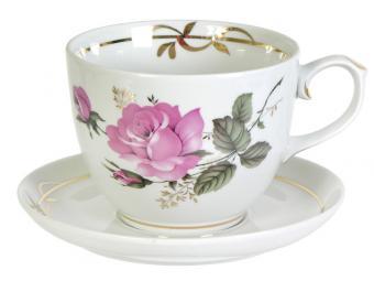 Чайная пара 500см3 Подарочная Глория