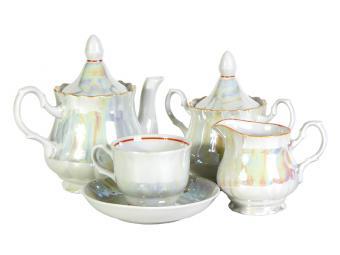 Чайный сервиз 15пр. Люстр форма романс