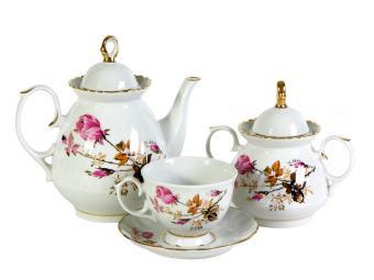 Чайный сервиз 14пр ф.Мария Голландская роза