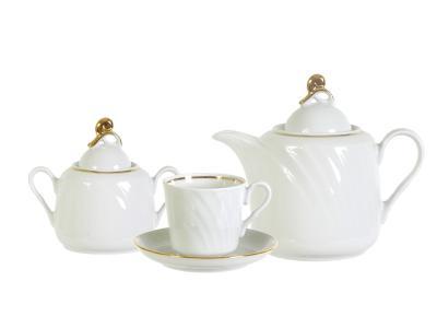 Чайный сервиз 14 пр Классик форма Голубка Добрушский фарфоровый завод