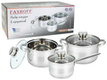 Набор посуды 3 пр нерж FH-52512