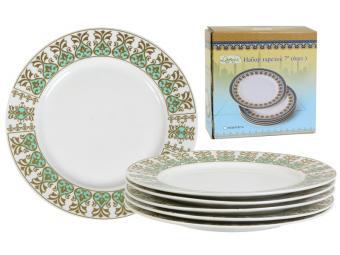 Набор тарелок 7'' 6шт ''Райский сад'' (51408)
