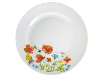 Тарелка Цветущий луг мелкая 240мм
