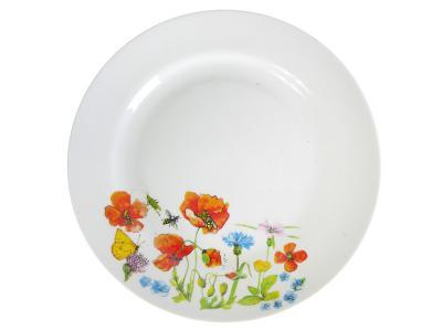 Тарелка мелкая Цветущий луг 20см