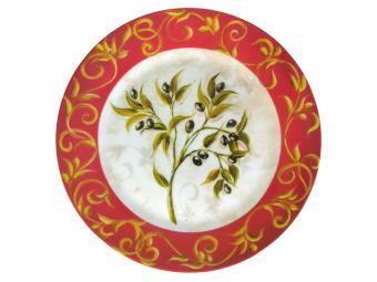 Тарелка Оливки обеденная 24см