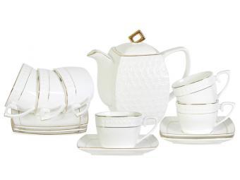 Чайный набор Снежная королева на 6 персон с чайником