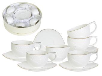 Чайный набор Снежная королева на 6 персон