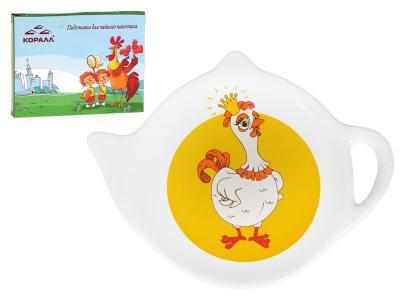 Подставка для чайного пакетика Курочка принцесса  HC1036-U03