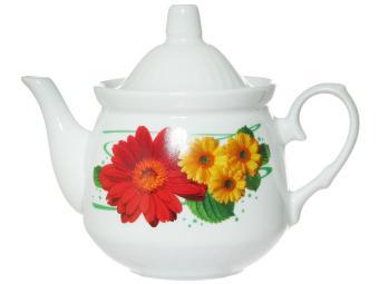 Чайник Кирмаш 550 см3 Праздничная гербера