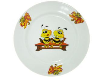 Тарелка 200мм мелкая ф.Идиллия Пчелы