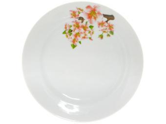 Тарелка мелкая 200мм ф.Идиллия Яблоневый цвет