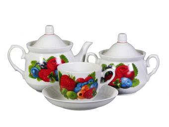 Чайный сервиз 14 пр Ассорти форма Кирмаш