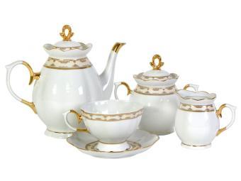 Чайный сервиз 15пр. Стильный форма Елена
