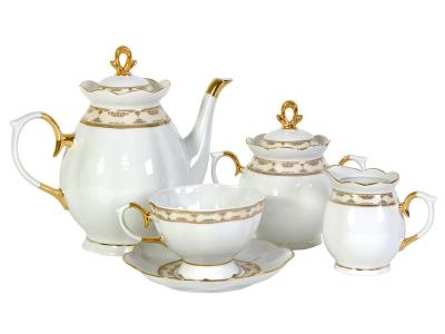 Чайный сервиз 15пр. Стильный форма Елена Добрушский фарфоровый завод