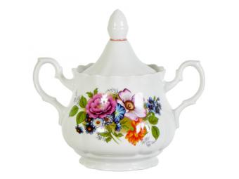 Сахарница Букет цветов 600см3