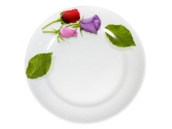 Тарелка 170мм мелкая ф.Идиллия Королева цветов