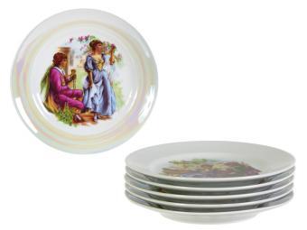 Набор тарелок Мадонна 170мм 6пр