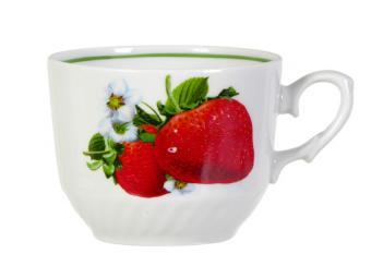 Чашка чайная 250см3 ф.Кирмаш Клубника