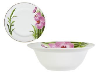 Миска 550см3 ф.Идиллия Бамбуковая орхидея