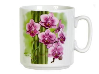 Кружка 300см3 Бамбуковые орхидеи