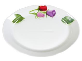 Блюдо овальное 330мм ф.Идиллия Королева цветов