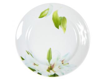 Тарелка Цветущая лилия мелкая 17см