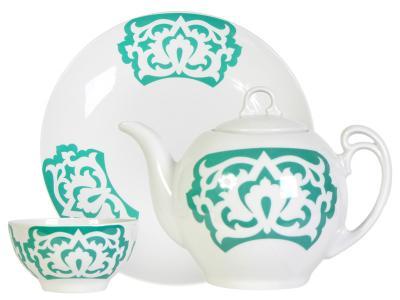 Набор для чая 8пр ''Восточный'' Азия Добрушский фарфоровый завод
