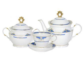 Чайный сервиз 14 предметов форма Надежда Барокко 1С0009