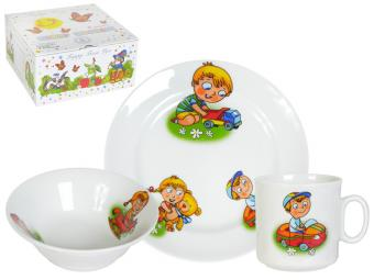 Набор посуды 3пр Детство