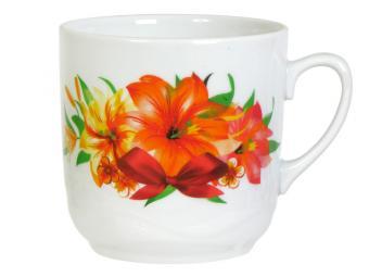 Кружка 350см3 Сад цветов