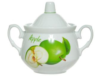 Сахарница 450см3 ф.Кирмаш ''Зеленое яблоко''