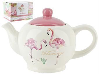 Чайник заварочный 980мл Фламинго