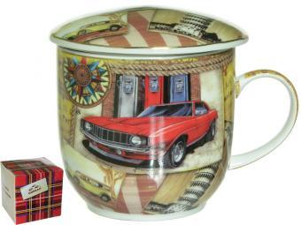 Кружка заварочная 330мл Красная машина