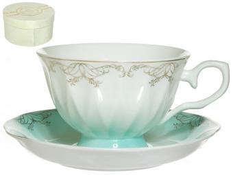 Чайная пара 250мл Симфония голубая