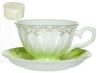 Чайная пара 250мл Симфония салатовая