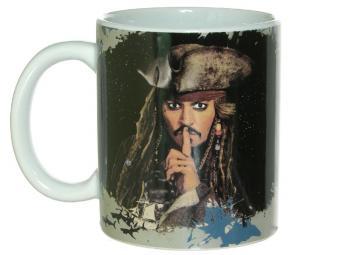 Кружка 350мл Пираты Карибского Моря. Капитан Джек Воробей