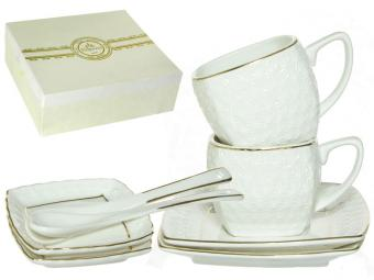 Чайный набор 8пр 180мл Снежная королева