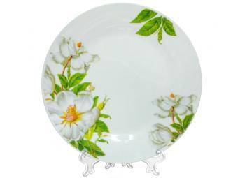 Тарелка десертная 18см 400мл ''Шиповник'' (159399)