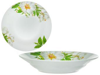 Тарелка суповая 550мл 20см ''Шиповник'' (159411)