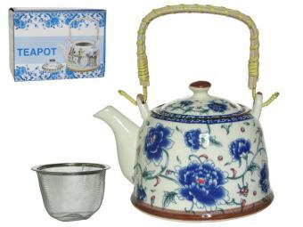 Чайник заварочный 900мл Синий пион