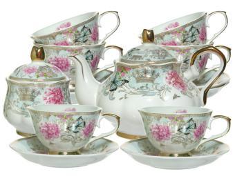Чайный набор 14пр 250мл Идиллия