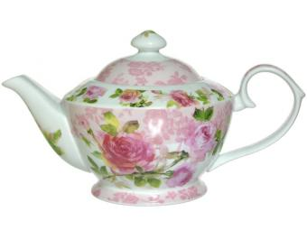 Чайник заварочный 800мл Роза
